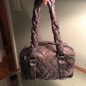 AUTHENTIC CHANEL Gray Bag